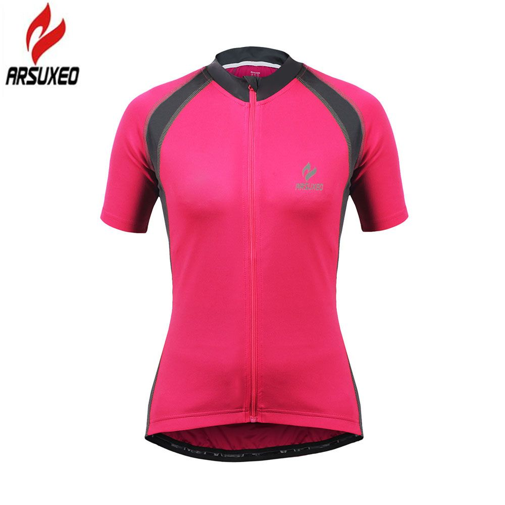 2017 Women Short Sleeve Jersey Ropa Ciclismo Bike Bicycle Clothing Cycling Wear