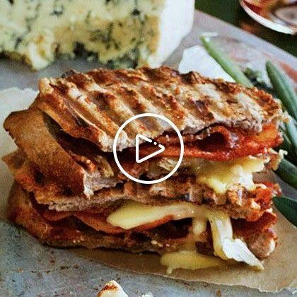 SaltySweet Bacon Panini recipe Bacon Panini recipeSalty-Sweet Bacon Panini recipe
