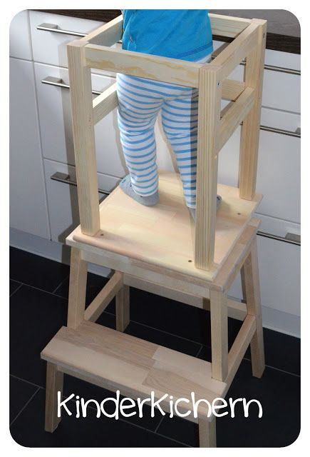 KinderKichern: Anleitung für einen Learning Tower | Küche ...