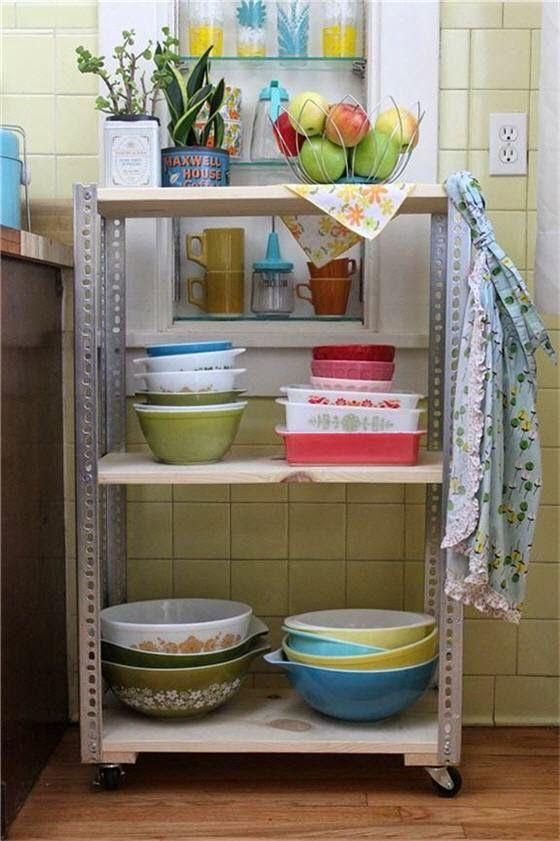 طريقة صنع وحدة رفوف متحركة من الخشب للمنزل Diy Decor Projects Diy Shelves Diy Decor
