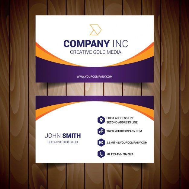 Business Card Modell Design Auch Visitenkarte Vorlage Adobe