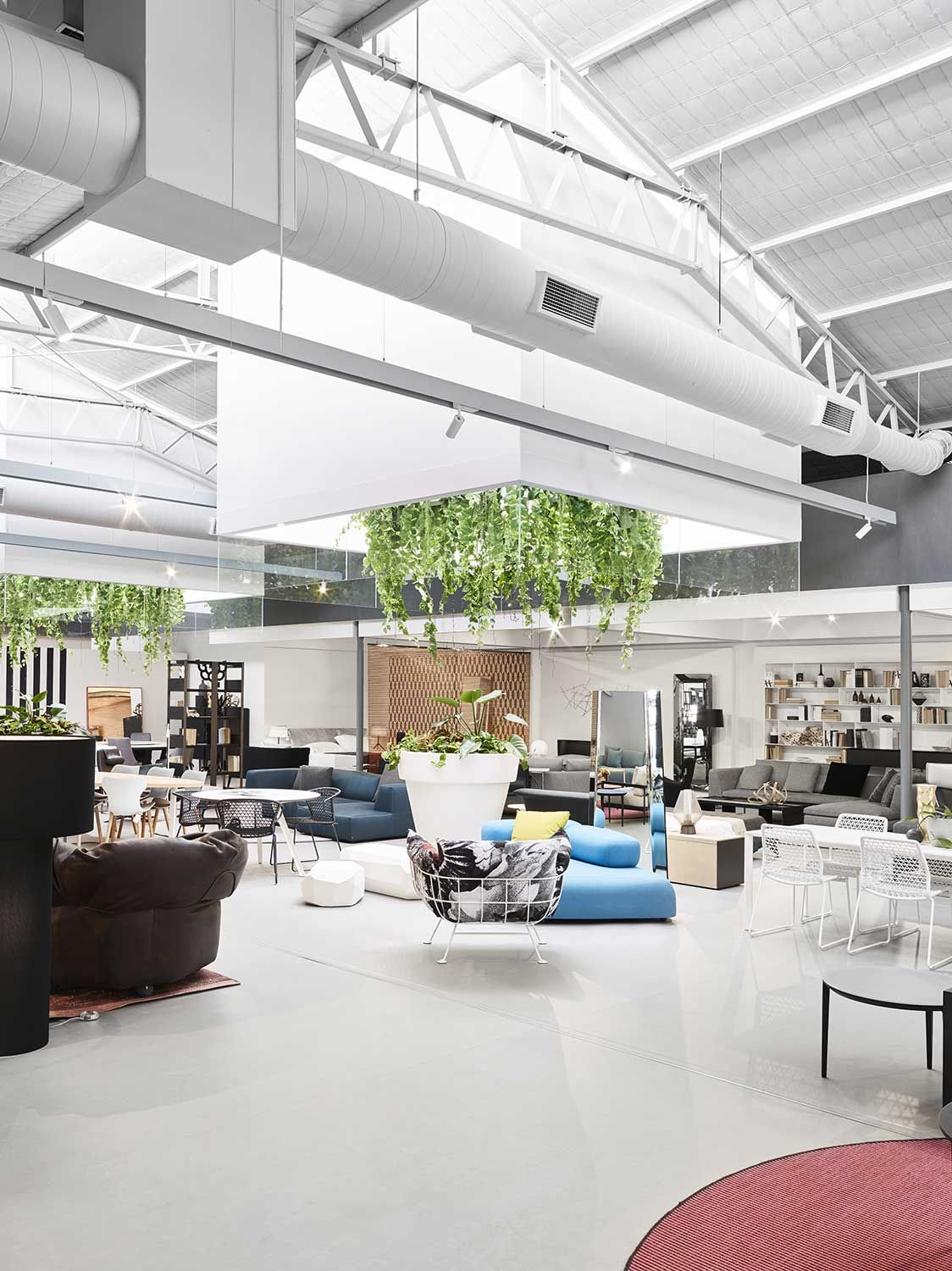 Lounge Clearance Brisbane Space Furniture S New Showroom By Designoffice Giuda Furniture