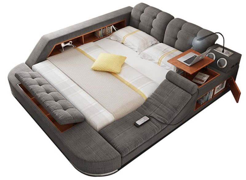 Tatami Massage Bed The Ultimate All In One Sleeping And Relaxation Solution Couch Storage Modern Bed Home Decor