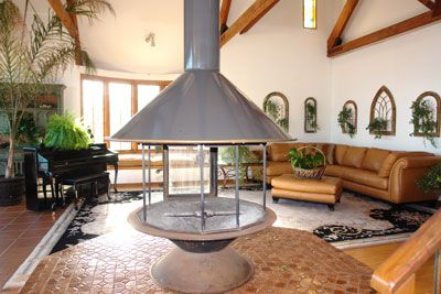 Indoor Fire Pit Hood Retro Fireplaces Pinterest Indoor Fire
