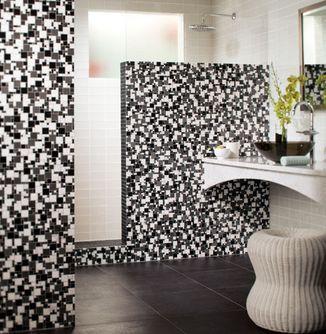 Wall Tile Ideas: Wall Tile Ideas:  Bathroom ala Mod?