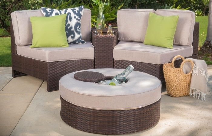 Astounding Riviera Positano Outdoor Patio Furniture Wicker 4 Piece Uwap Interior Chair Design Uwaporg