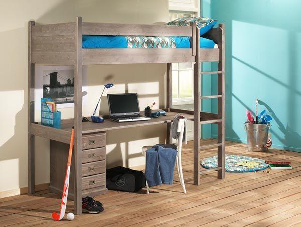 Hoogslaper Met Kast En Bureau Ikea : Leuk bureau bed voor op een kinderkamer gebruikt voor een