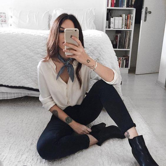 16 Outfits que sacarán a tu fashionista interior #minimalistfashion