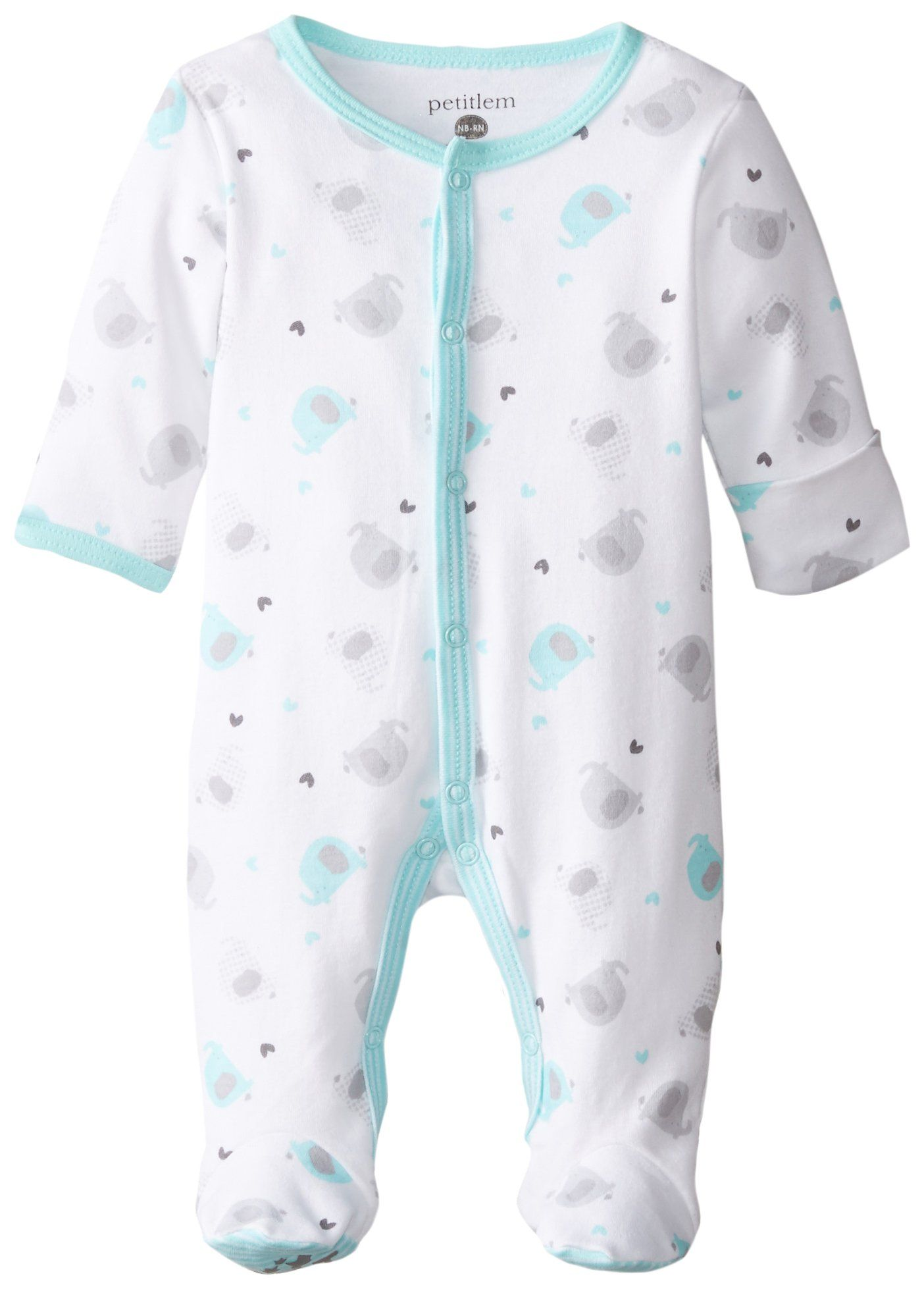Baby Footed Sleeper Premium Soft and Breathable Cotton Multiple