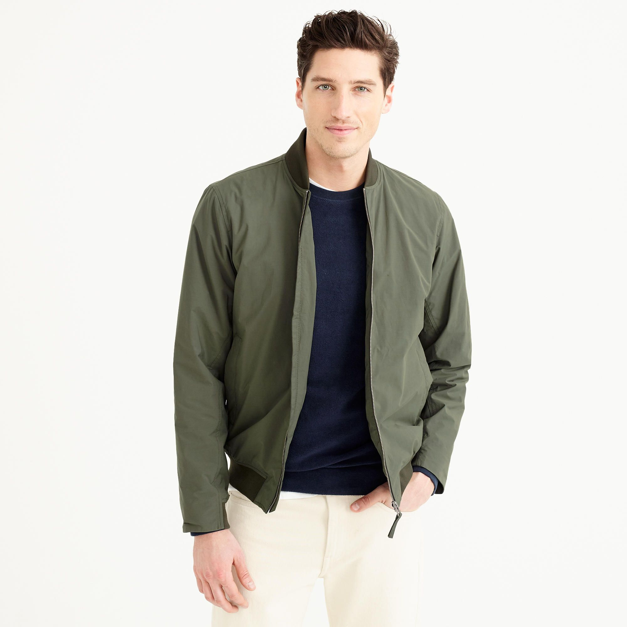 Norse Projects™ Ryan cotton bomber jacket : Men J.Crew in good company