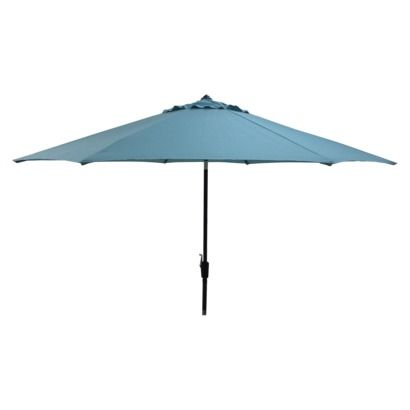 Smith Hawken Patio Umbrella Azure