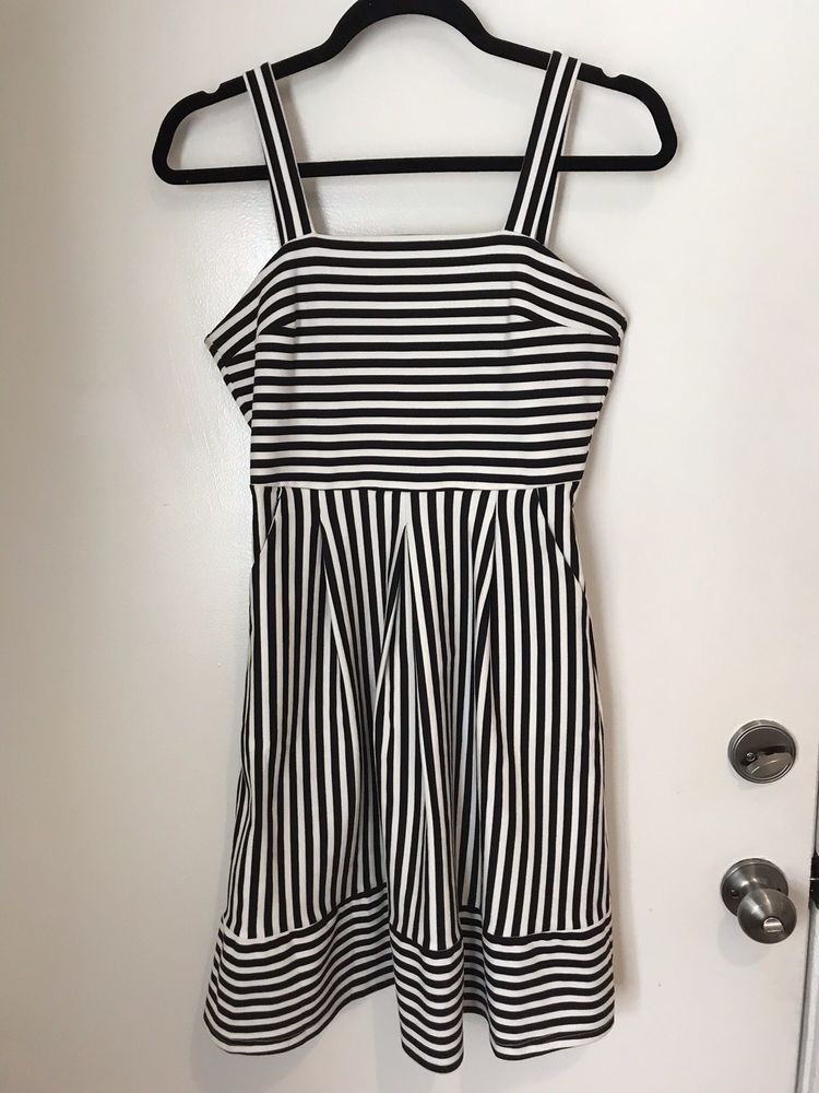 f297ce6b7e6 StitchFix Brixon Ivy Levi Ponte Tank Dress Black and White Striped Size  Small  fashion  clothing  shoes  accessories  womensclothing  dresses (ebay  link)