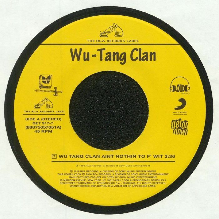 Wu Tang Clan - Wu Tang Clan Aint Nothin To F Wit (Get On Down