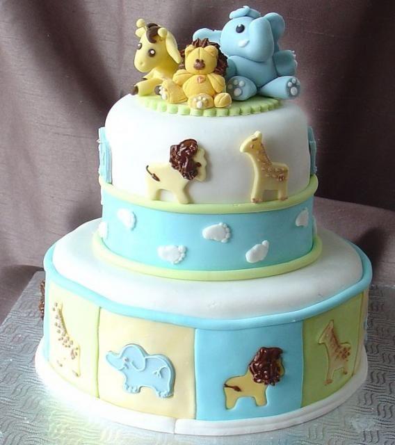 cute jungle animals baby shower cake wallpaper  wallpaper baby, Baby shower invitation