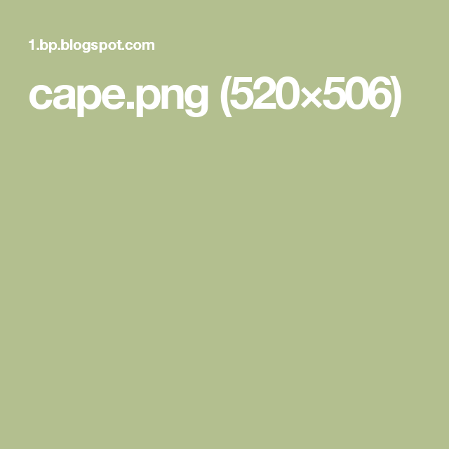 cape.png (520×506)
