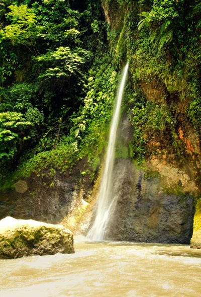Pacuare Waterfall Turrialba Costa Rica