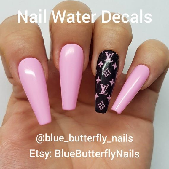 40 Latest French Nail Art Designs Ideas 2019 Pink Acrylic Nails Pretty Acrylic Nails Coffin Nails Long