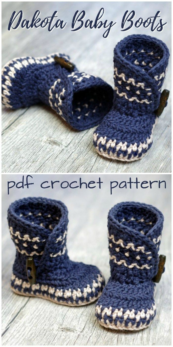 Baby Booties | crochet | Crochet baby, Crochet, Crochet baby boots