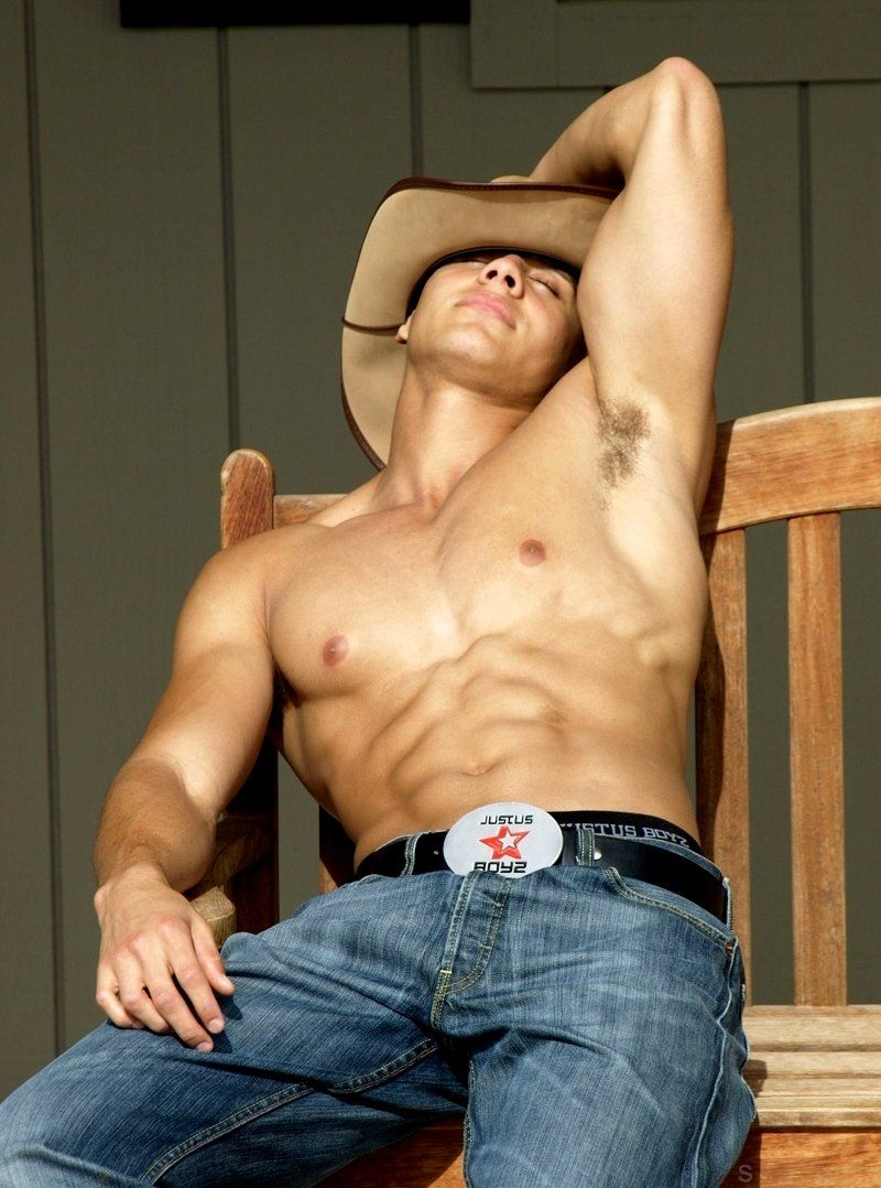 95deb8ace586e Hot shirtless boy with major abs and a cowboy hat. Pinch me. I m dreaming.