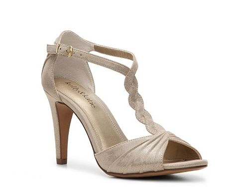 Kelly \u0026 Katie Christa Sandal DSW in rose gold $40