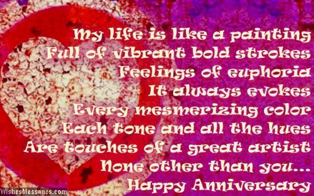 10th Wedding Anniversary Poems For Wife