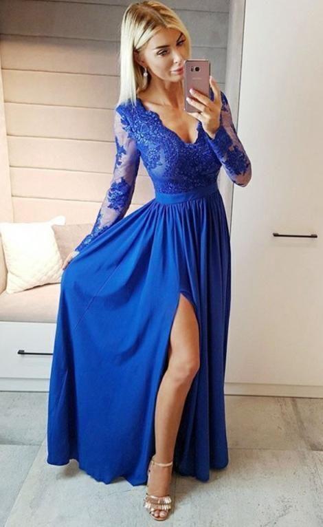 Photo of Prom Dress Long Sleeves, Evening Dress, Dance Dresses, Gradu…