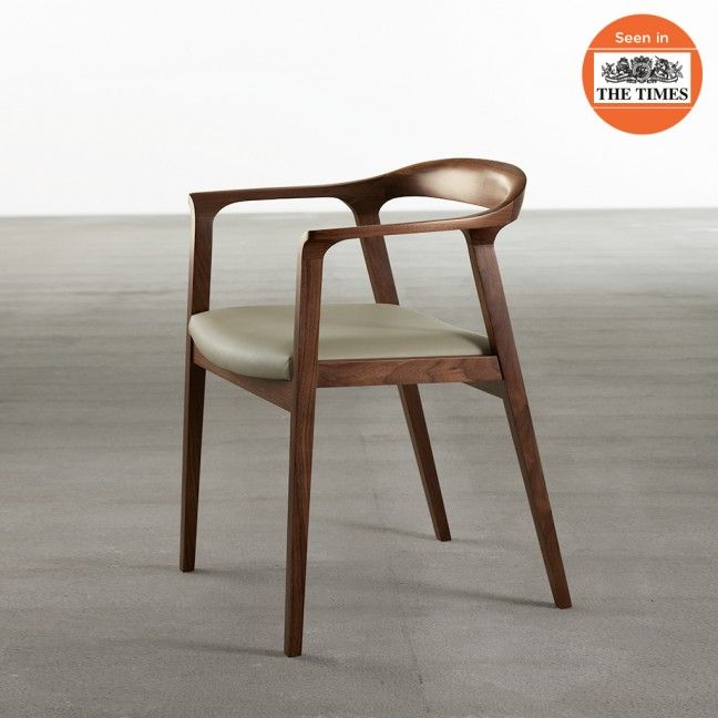 U0027Willowu0027 Chair In Walnut   Chairs   Seating