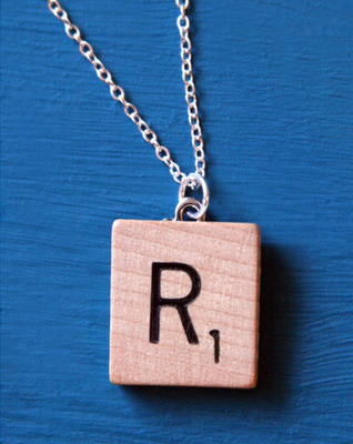 Scrabble Tile Necklace Hm Can T Decide If I Like It