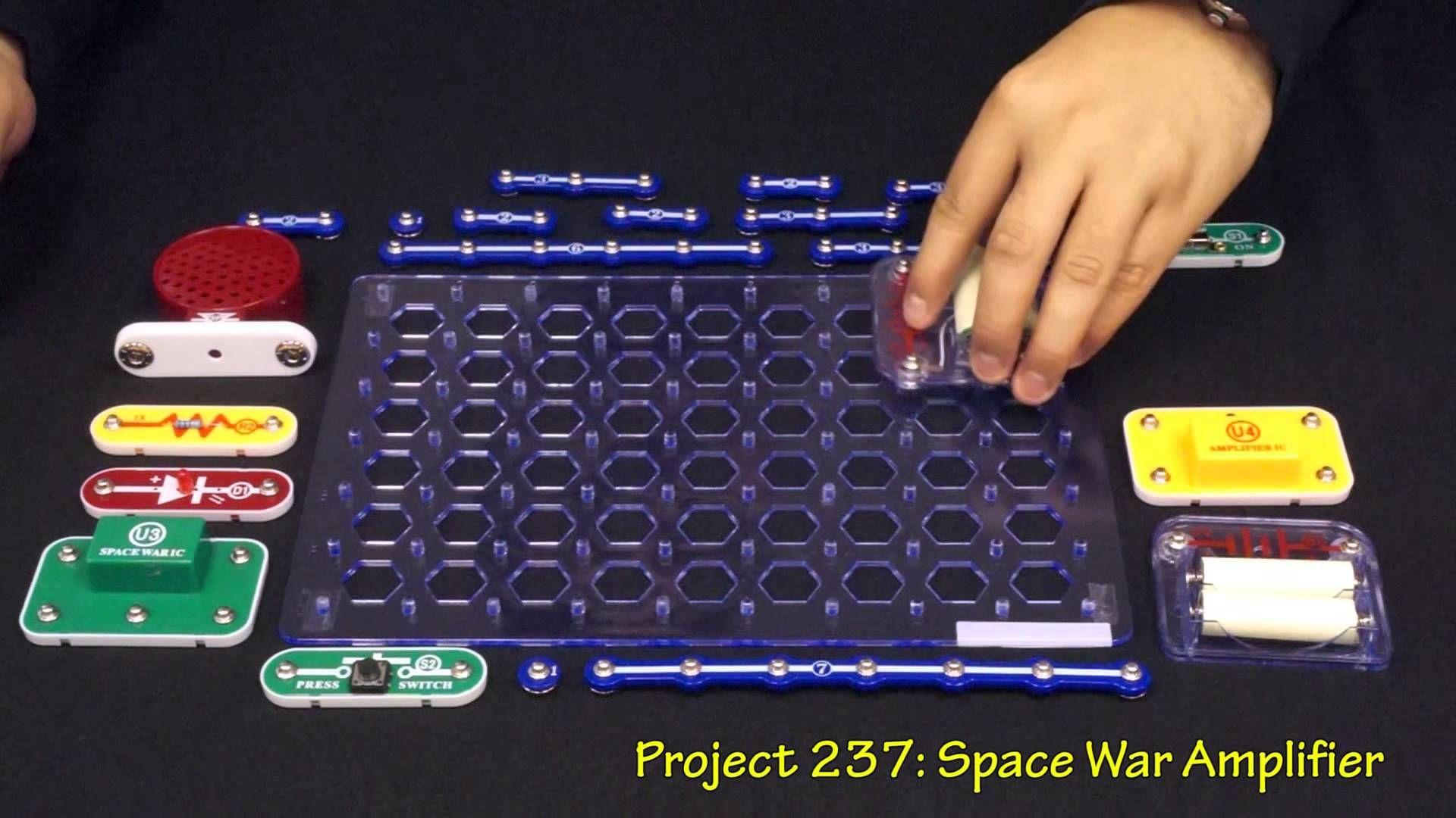 Snap Circuits Model Sc 300 Snapcircuits Pinterest Elenco Scs185 Sound