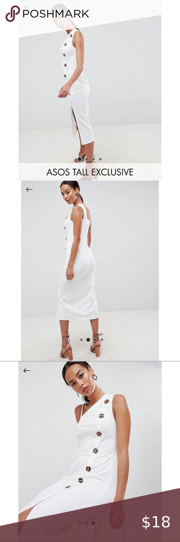 Asos Tall White Dress Size 16 White Dress Size 16 Size 16 Dresses White Dress [ 1740 x 580 Pixel ]
