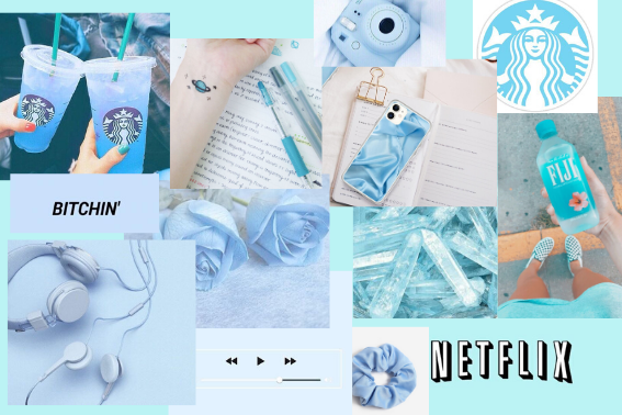 Pale Blue Aesthetic Laptop Wallpaper Di 2020 Warna Aqua Ruang Seni Wallpaper Ponsel