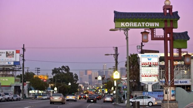 Korea Town K Town Los Angeles Ca Koreatown Sunken City La Trip
