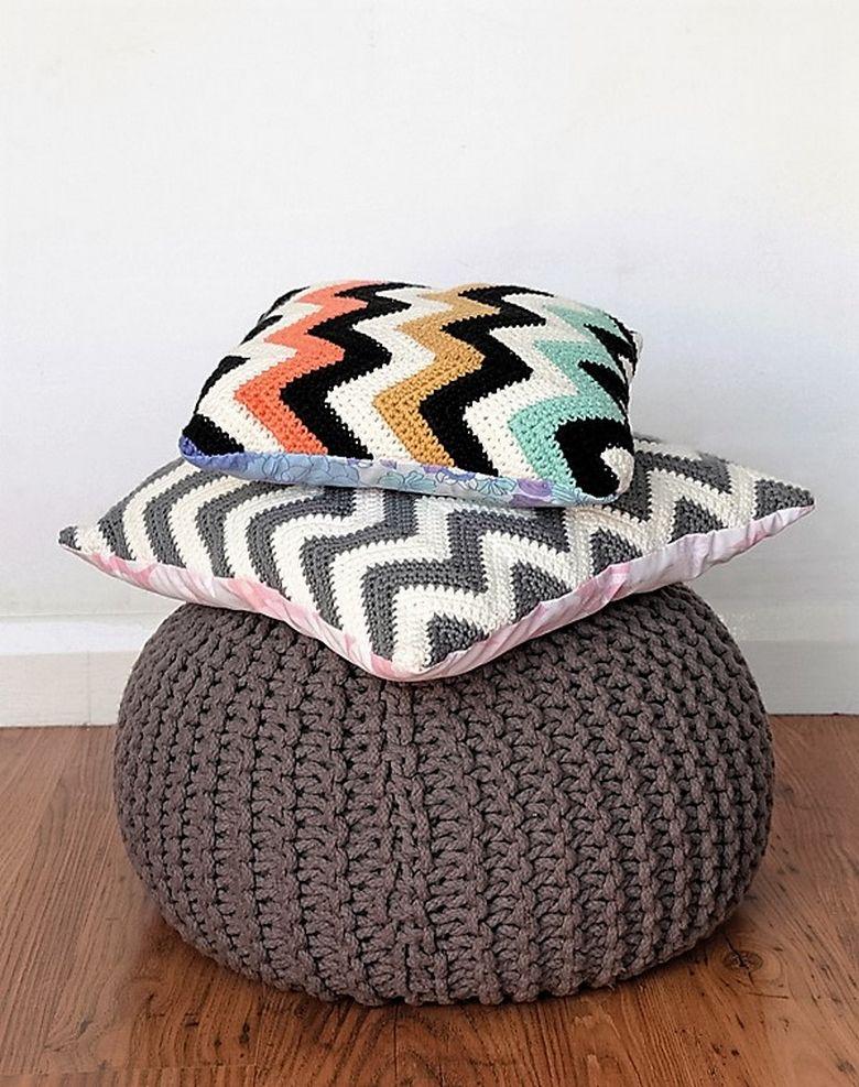 Easy to Make Free Crochet Cushion Patterns | Pinterest | Häkelkissen ...
