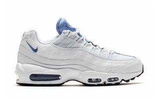 a992991389b ... wholesale nike air max 95 essential white chalk blue stealth clean white  tones with baby blue