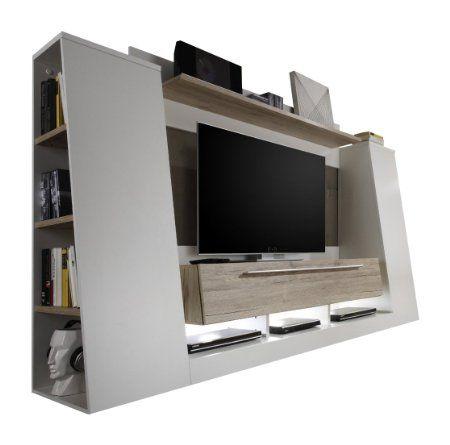 Maisonnerie 1401-945-91 Meuble TV Design Chêne de San Remo ...