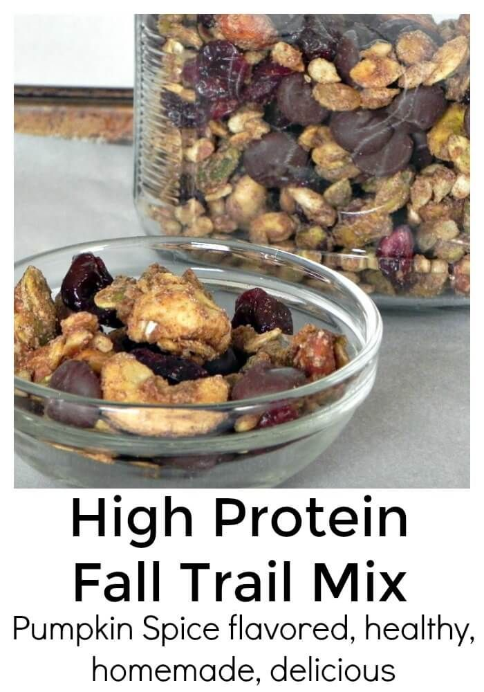 High Protein Fall Trail Mix