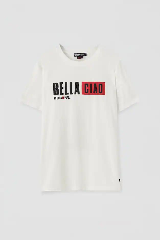 T Shirt La Casa De Papel X Pull Bear Bella Ciao Pull Bear