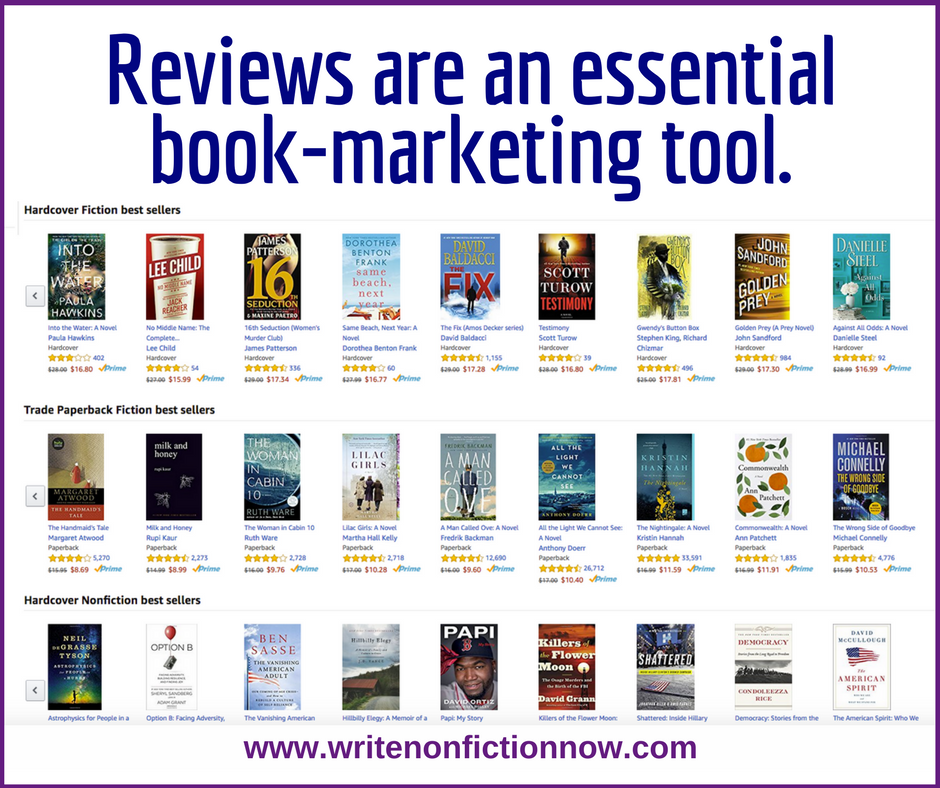 Make Book Reviews Part of Your Book Selling Process