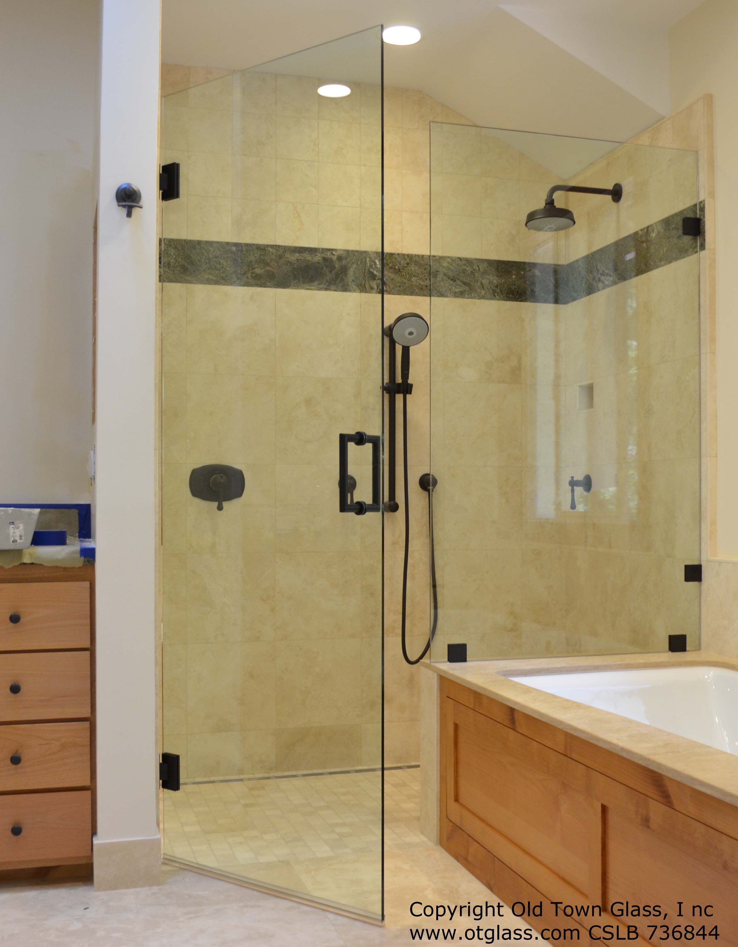 38 frameless shower door features a door and panel inline with 38 frameless shower door features a door and panel inline with the planetlyrics Image collections