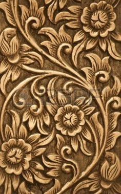 Wood Carving Designs Flowers Carvings And