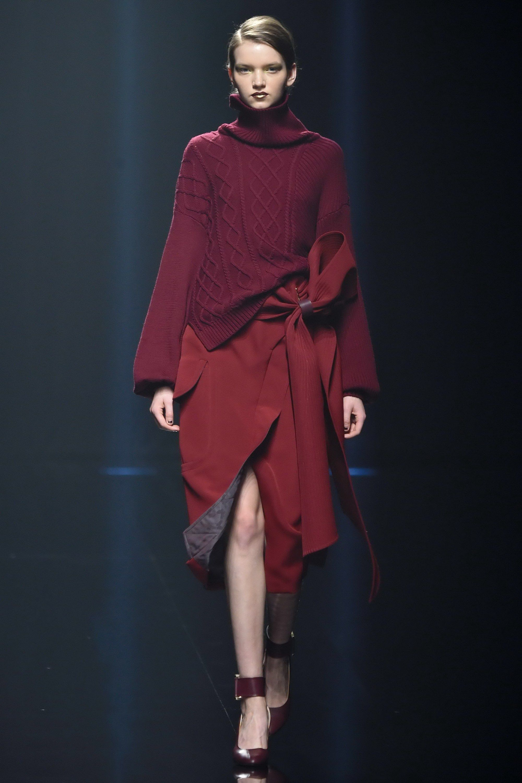 Hanae Mori Manuscrit Tokyo Fall 2016 Fashion Show