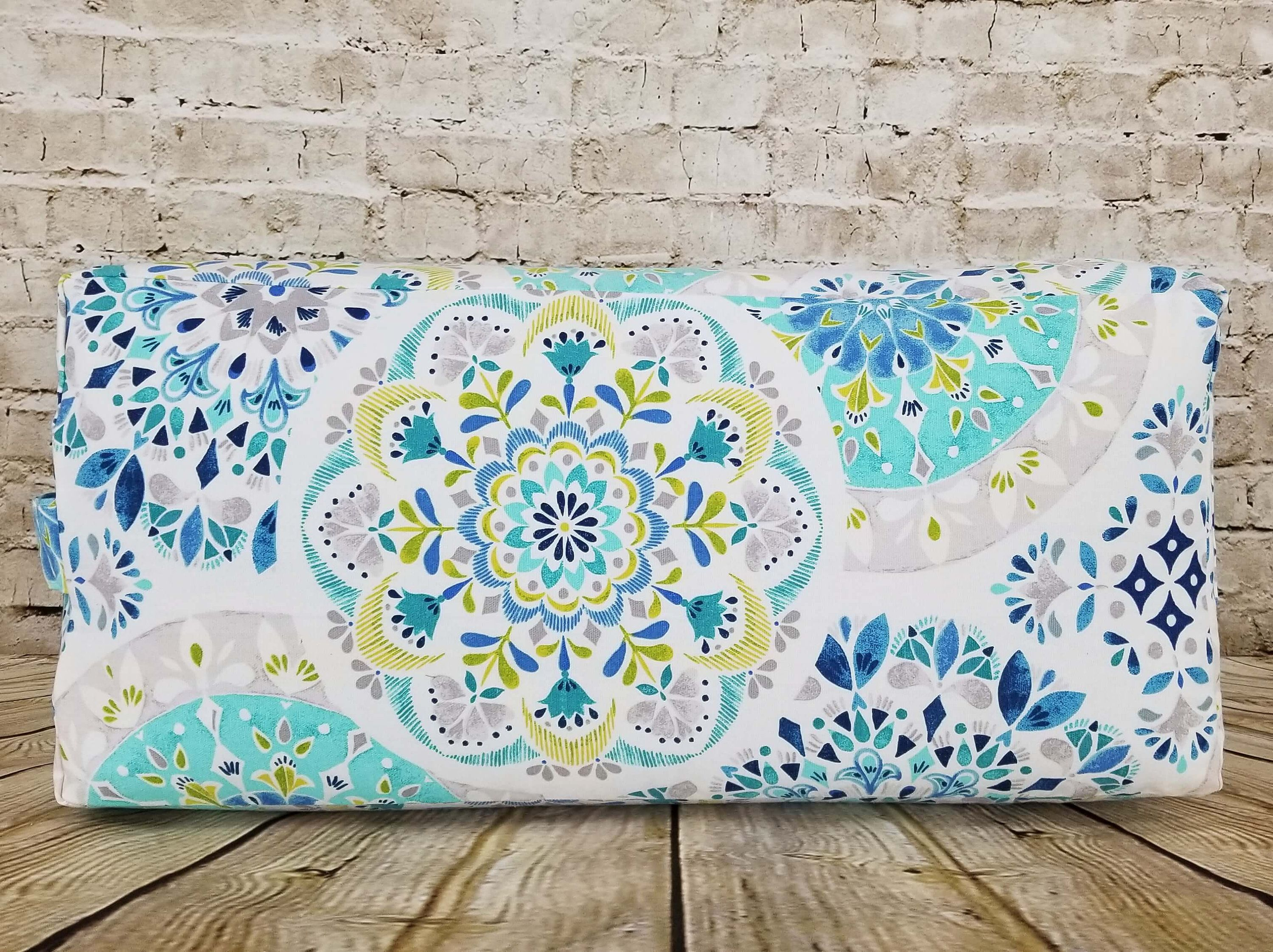 blanket bolster accessories mexican traditional yoga zoom pillow