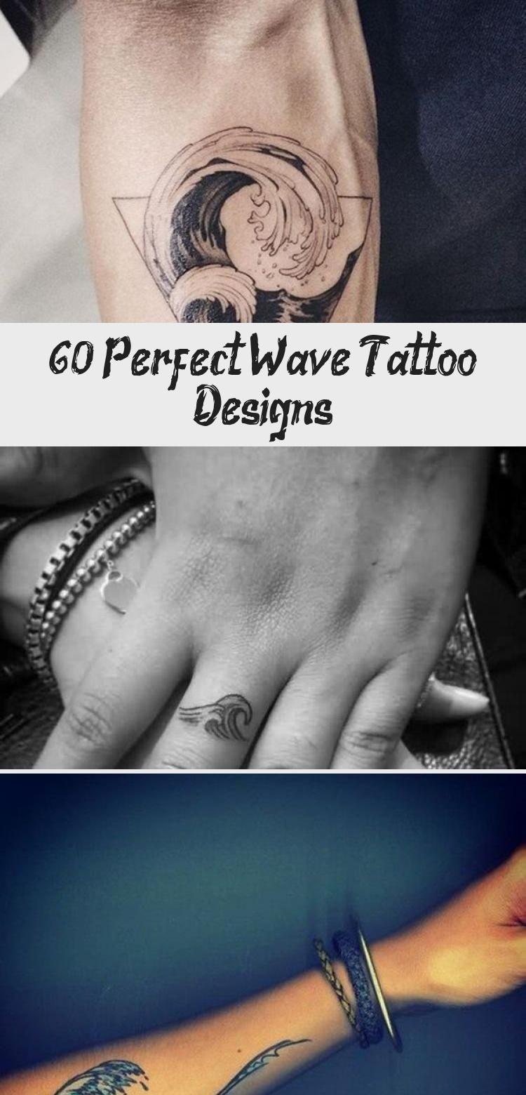 Photo of 60 Perfect Wave Tattoo Designs – Tattoo Blog
