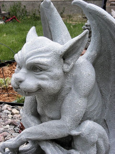 garden gargoyles - Bing Images Twisty Woods Pinterest Gardens