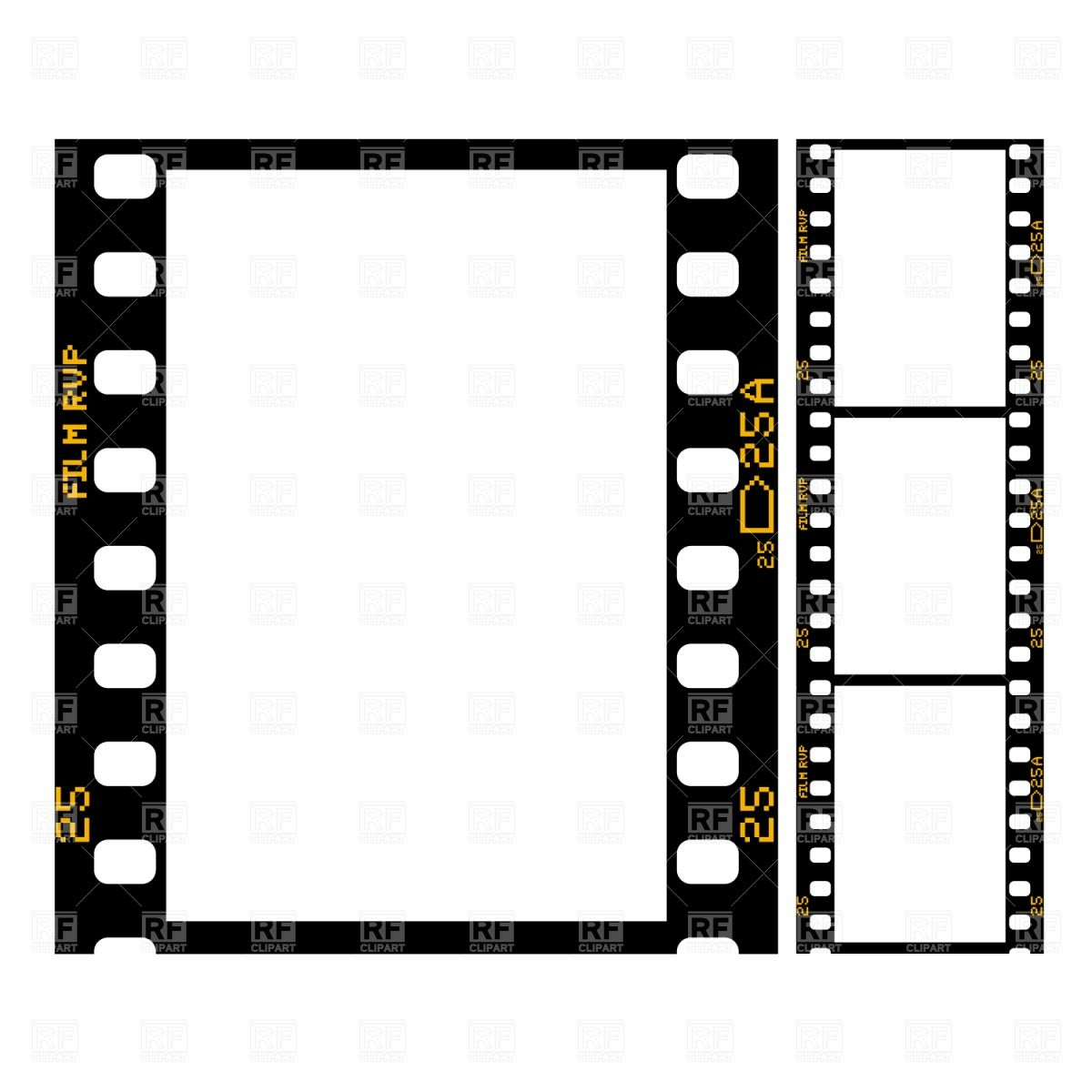 Film Strip image Template (2560px wide) from the barefoot business ...