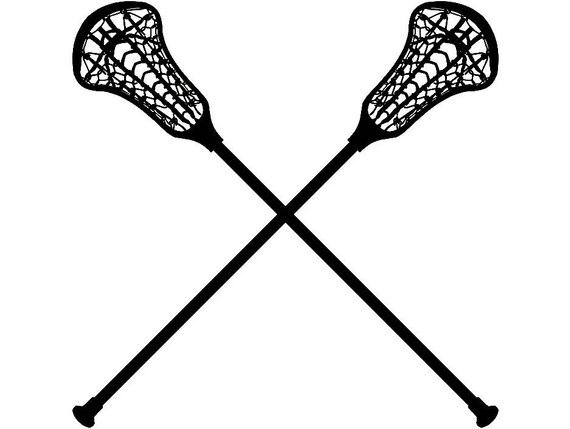 a74bc04e84b Lacrosse Logo #3 Sticks Crossed Equipment Field Sports Game Outfit Uniform  .SVG .EPS