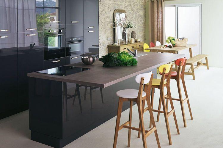 lot de cuisine rimini d 39 alin a dream home pinterest ilot cuisine mobilier de salon et. Black Bedroom Furniture Sets. Home Design Ideas