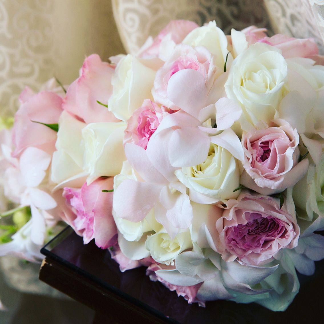 #FunFactFriday Peonies and Garden Roses are a couple of 2016's most desired flowers for social events and parties. Here is bouquet we have created with these lovely flowers! #bocabydesign #bocaratonresort #bocaresort #weddingbouquets #bouquet #floralcenterpieces #peonies #gardenroses #socialevents