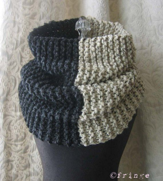 El Grande Cowl on The Uniform Project - Knit Cowl - Chunky Oversized ...