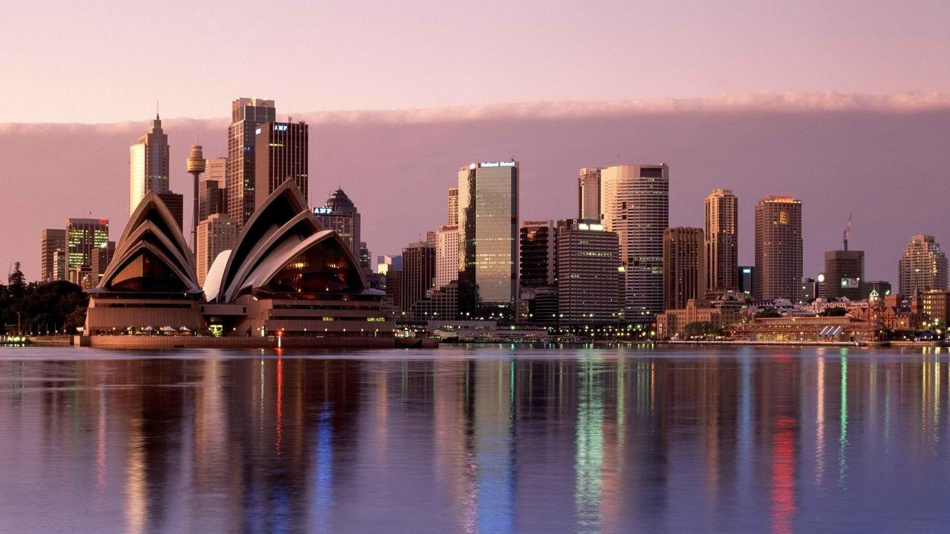 Skachat Oboi Na Rabochij Stol 1920h1080 Avstraliya Sidnej Opera